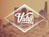 Valdi Skate Co. Logo