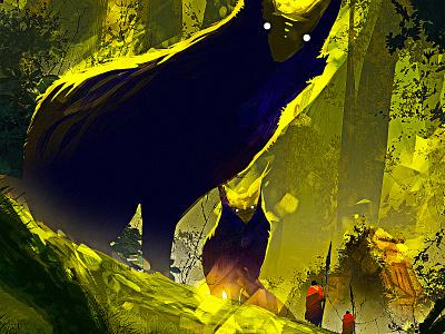 Fox character design illustration creative game art art creative image cg painting concept art