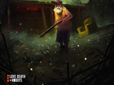 Monster bait game art design character illustration creative art creative image cg painting concept art