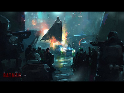 Hard to catch character creative illustration art game art creative image cg painting concept art