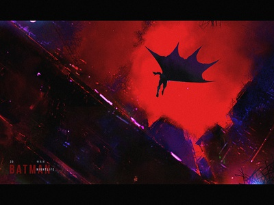 Batman Nightlife design character illustration creative art game art creative image cg painting concept art
