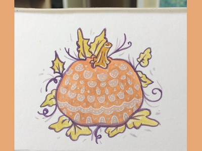 The Picked Pumpkin