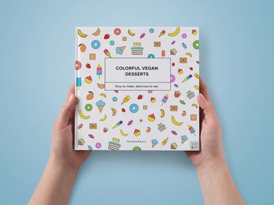 VEGAMEGA - Colorful vegan desserts book
