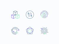 Icons fintech