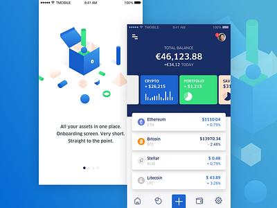 MoneyRebel Crypto Wallet ios icon decentralized wallet app ethereum bitcoin crypto blockchain