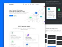 0xcert web design