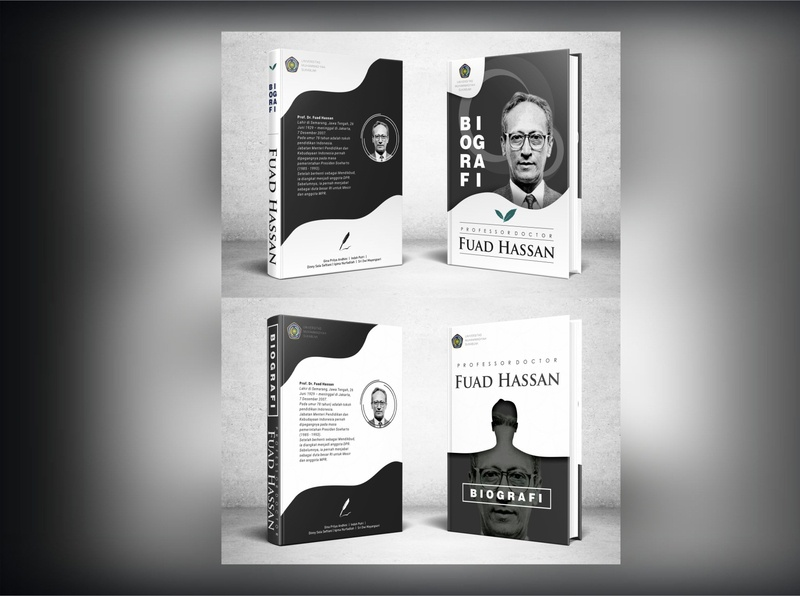 Monochrome BookCover Design books motivator book book cover character branding flat art minimal typography illustration design