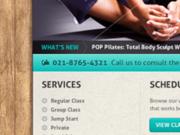 Pilates website
