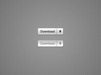 Button download grey
