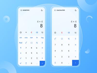 Calculator App glass morphism calculator calculator app ios app uiuxdesign uiux uidesign ui design