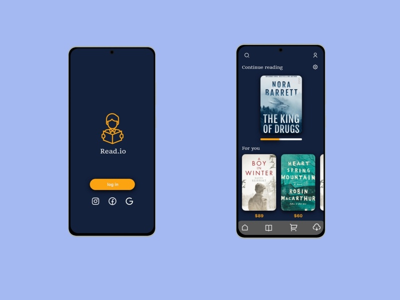 Read.io icon ux ui design