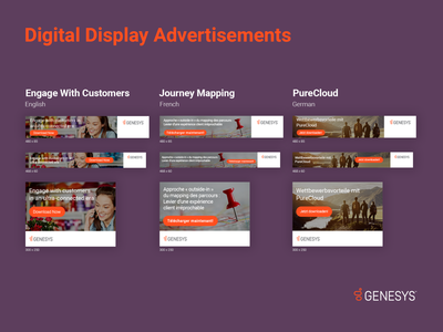 Genesys Display Advertisements