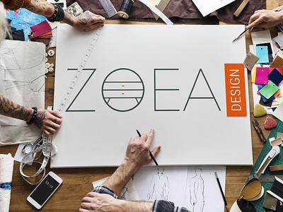 Zoea design ecommerce logo brand design
