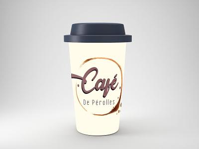 Café de Perolles product design brand design