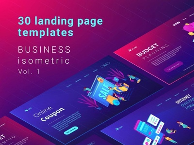 Business Lading Pages vol.1
