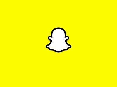 Snapchat Logo Animation sharp vecotr illustrator rig cloth frame by frame fbf 3d c4d cinema4d animation logo snapchat