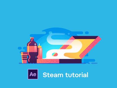 Steam Tutorial learn hot steam frame by frame cel tutorial animation tutorial