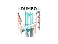 DUMBO Line Art