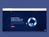 WordPress Support Header