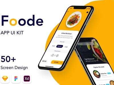 Foode - Best Food Order Mobile App - DOWNLOAD