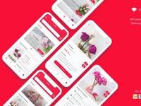 Zambak - Gift and Flower App UI Kit
