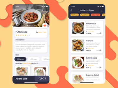 Food Delivery Company App
