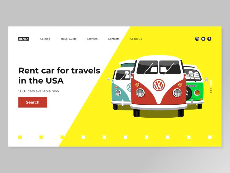 Car Rent Company Website