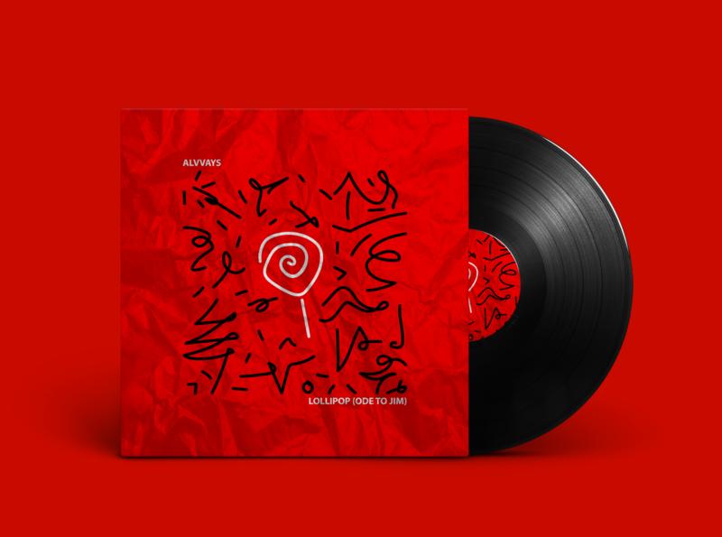 ALVVAYS Artwork for Vinyl Record branding design mockups music art artwork band alvvays music mockup photoshop