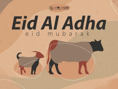 Eid Al Adha Eid Mubarak flat ai design vectors color pallette earth tone illustration illustrator poster vector eid eid qurban eidmubarak eid al adha idul adha