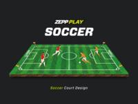 ZEPP Soccer - Court Design