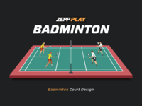 ZEPP Badminton - Court Design