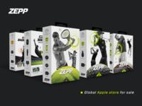 ZEPP Product packaging design