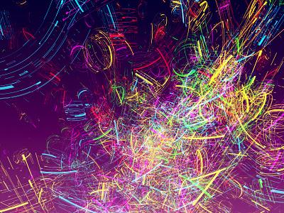 Theme Of Love pride explosion fun fireworks 3dsmax particles vector art colorful 3d digital illustration digital art illustration