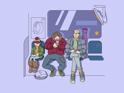 Next Rivendell Station! human hobbit elf metro illustrator vector illustration illustration