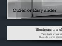 Freebie - website psd design
