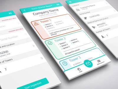 Field Inspection App UI