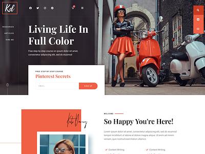 BlogHer - Influencer Marketing Blog & Shop lifestyle beauty blogging feminine elementor
