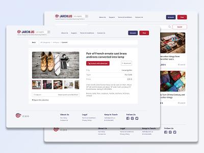 Jarchi app website uidesign design usa ux ui user interface ui design shop locanto offerup offer creative craigslist american
