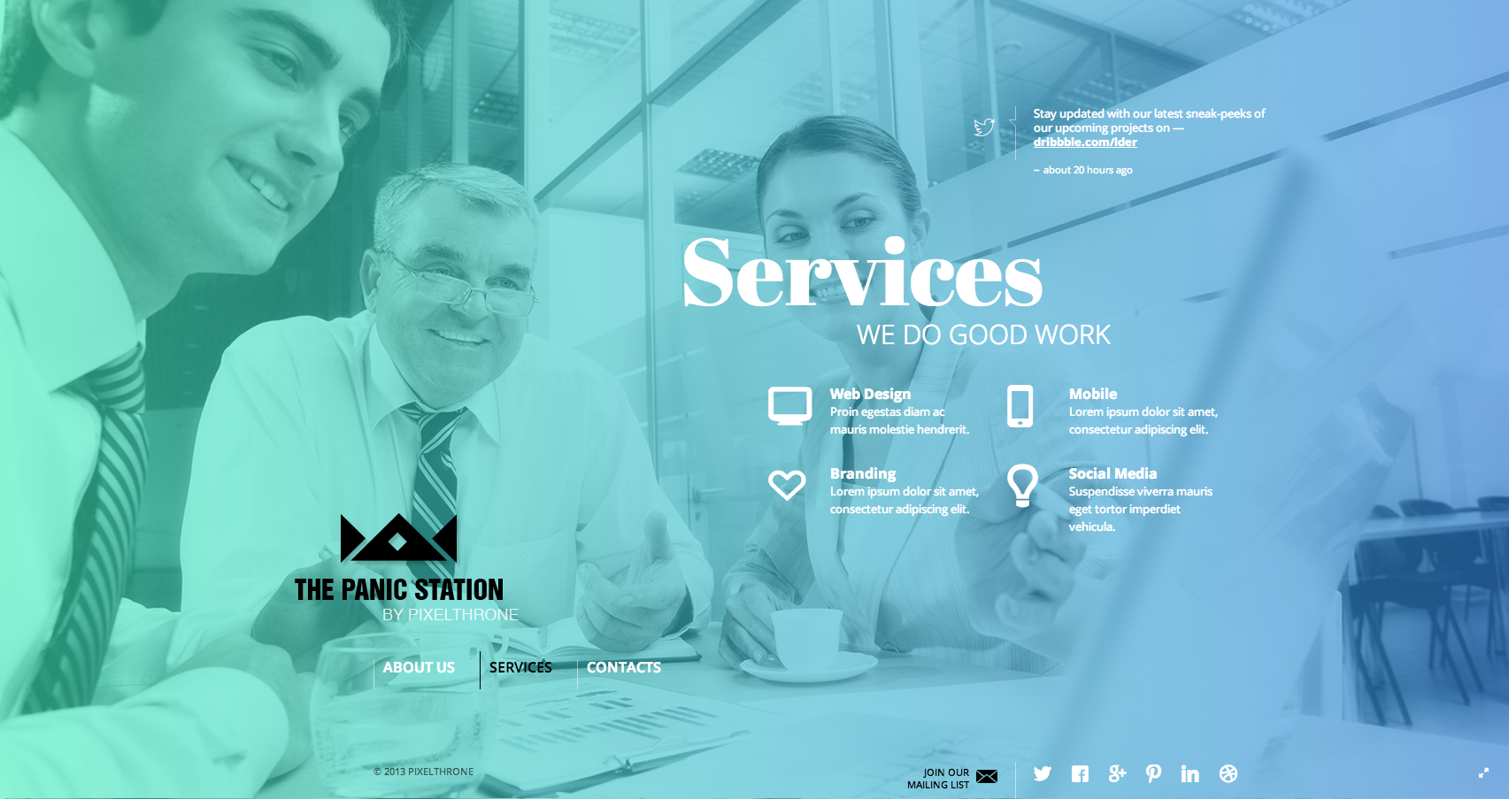The panic station   services