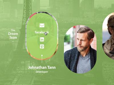Team Widget team widget icon person green social