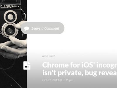 Blog — Next Post article pixelthrone design ui post read next blog icon