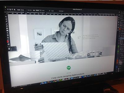 Minimalist Portfolio/Personal Theme ui pixelthrone design theme website one page themeforest about me
