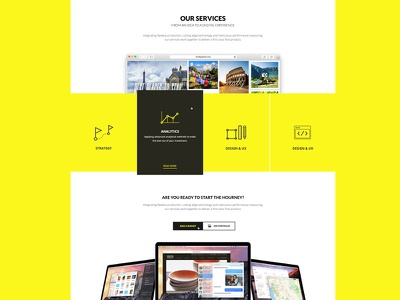 Our Services Page ( new Theme ) themeforest pixelthrone ui theme wordpress website color yellow web