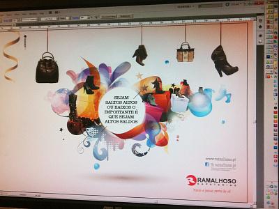 Cover for a catalog of shoes shoes print design catalog