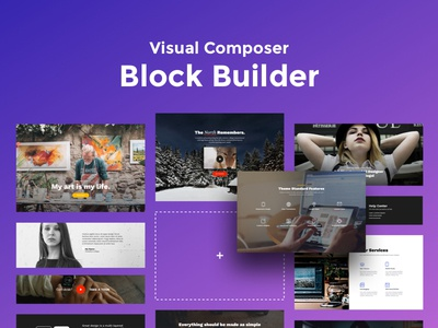 Visual Composer Extension - Block Builder + Addons