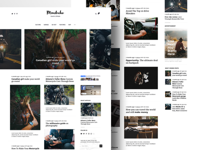 Moustache | Blog & Magazine Theme themeforest envato blogger site website simple clean pixelthrone theme magazine blog wordpress