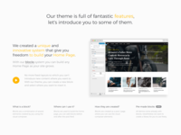 Homepage Builder — Section
