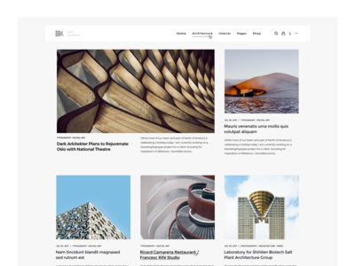 WordPress Magazine Header blog theme envato themeforest pixelthrone ui freelance minimal clean header magazine wordpress