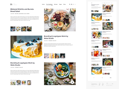 WordPress Magazine | Homepage Grid v2 website wordpress magazine homepage clean minimal freelance pixelthrone themeforest envato theme blog