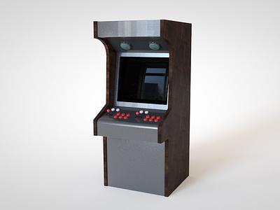 Game Cabinet props design 3d artist 3d art 3d modeling